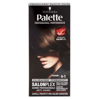 TESTANERA Haarfarbe Palette 4-1 Braun