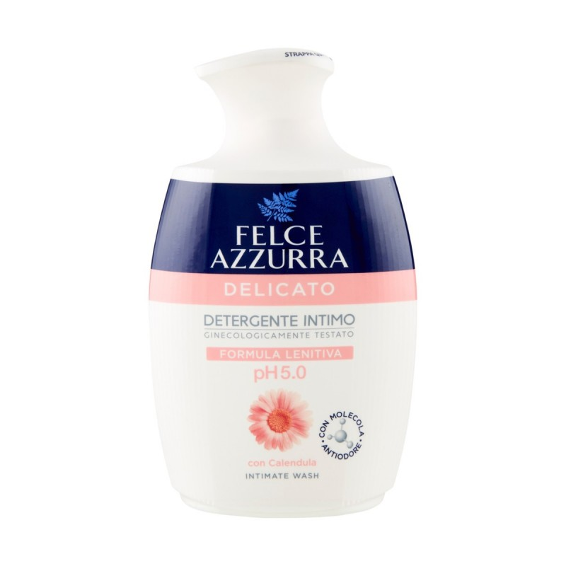 Felce Azzurra detergente intimo delicato pH 5.0 con calendula 250 ML.