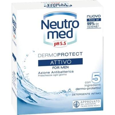 Neutromed, intim, aktiv, für Männer, 200 ml