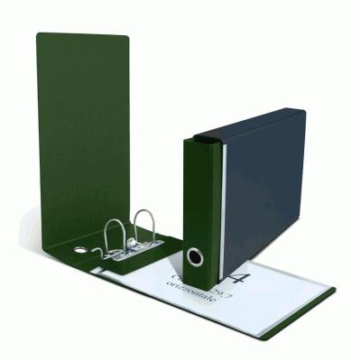 classeur a4 Horizontal arrière de 5 cm - Pack de 5 - couleur vert