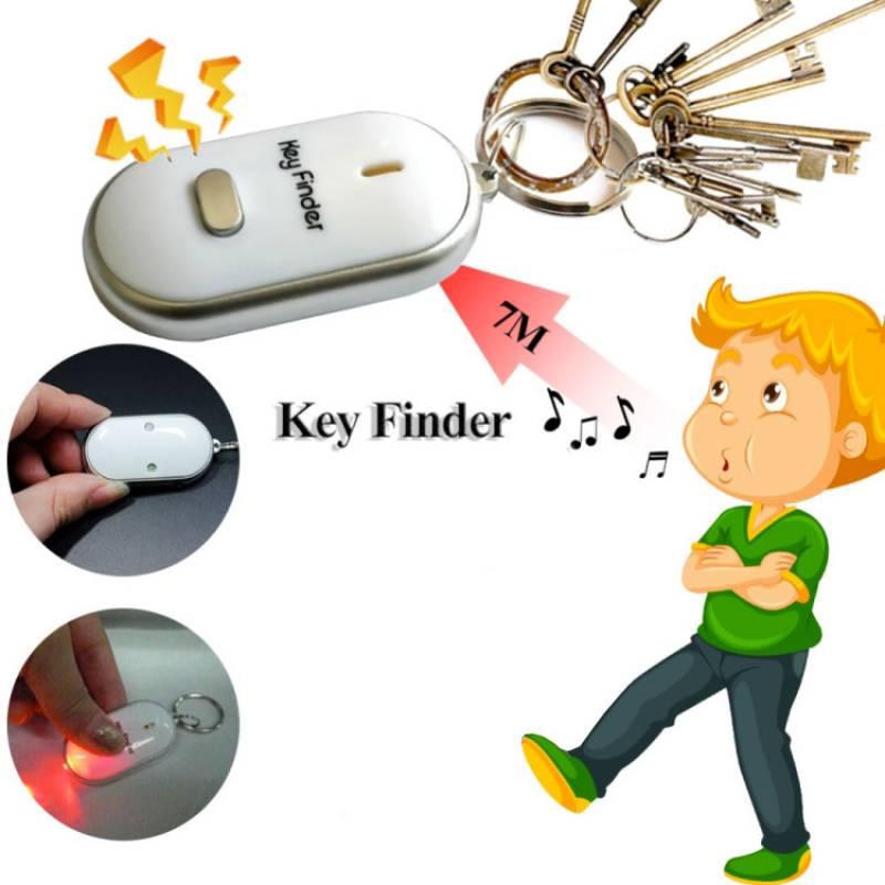 finden Schlüssel - Schlüsselring mit Pfeife und LED-Licht