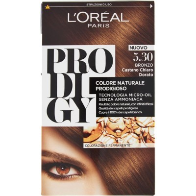 L'OREAL Prodigy - Permanente Färbung - 5.3 Bronze Light Brown Gold