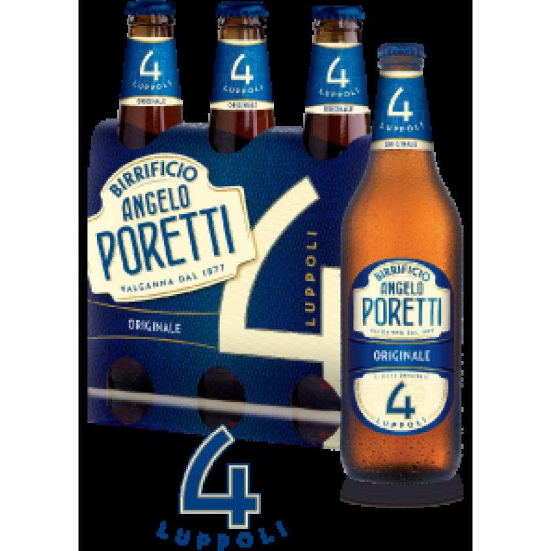 Birra Poretti 4 Luppoli 33cl triopack