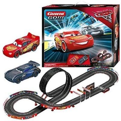 Elektrotrack, Carrera GO, Disney Pixar Cars 3 Als Erster abschließen!
