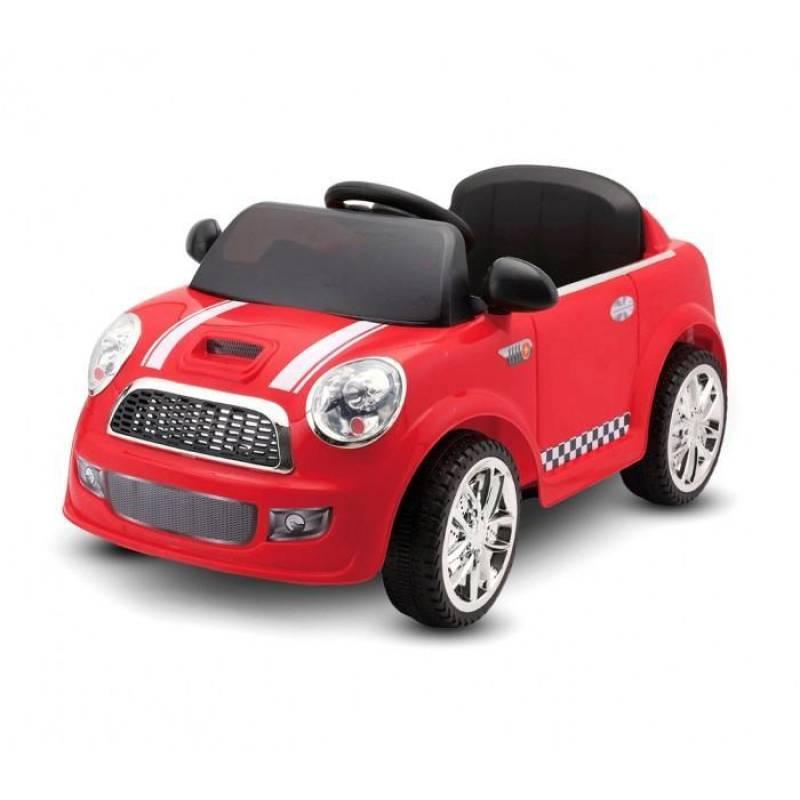Kinder auto modell Mini Cooper Rot 12 Volt