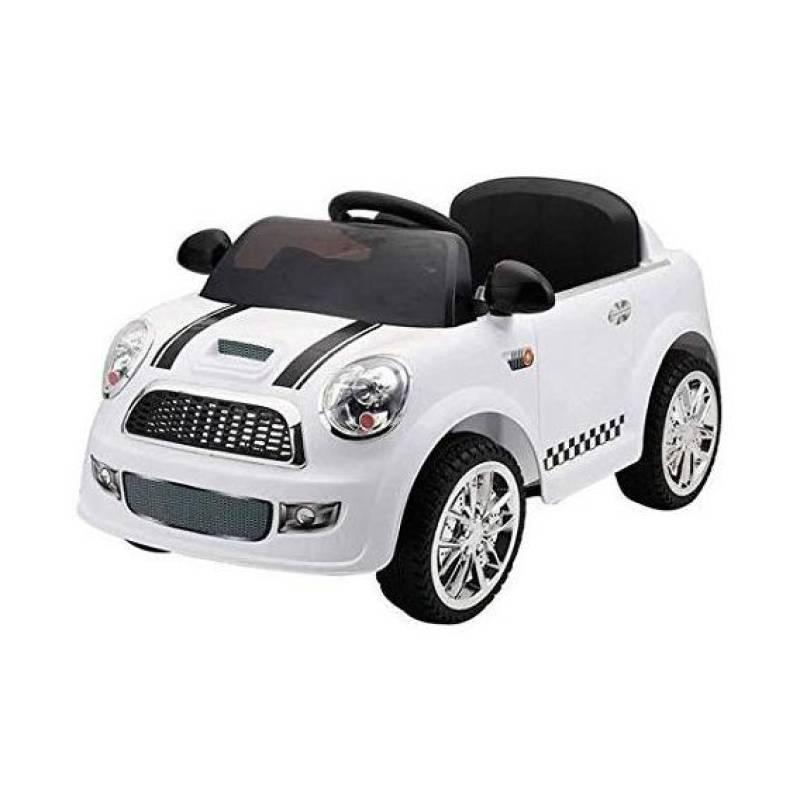 Kinder auto Modell Mini Cooper Weiß 12 Volt