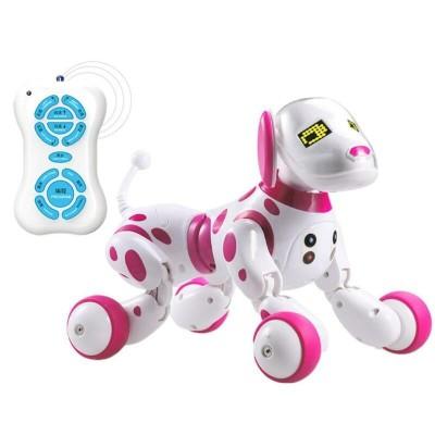 RoboDog Dimei 9007 der intelligente Roboterhund, 2,4 g Funksteuerung, weiß rosa