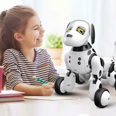 RoboDog Dimei 9007 der intelligente Roboterhund, 2,4 g Funksteuerung, weiß schwarz