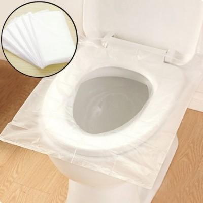 Abdeckung WC Einweg Toilettenbezug für reise, 50 Stück