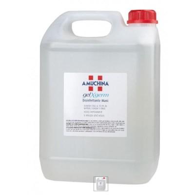 Amuchina Gel X-Germ désinfectant pour les mains, boîte de 5 litres