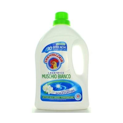 Chanteclair Machine à laver, Musc blanc, 30 lavages
