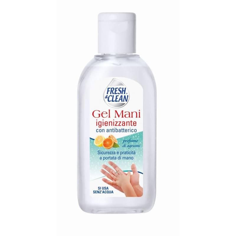 Fresh & Clean, Handgel, Desinfektion mit antibakteriellen Mitteln, 100 ml wie Amuchin