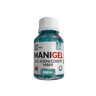 Manigel Gel Hand Sanitizer 50 Dosen gegen VISUR, Bakterien und Pilze