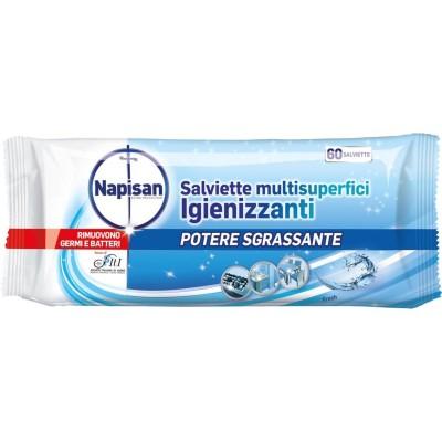 Reinigungstücher mit mehreren Reinigungsmitteln für die Reinigung von frischer Entfettungskraft 60 Stück, Napisan