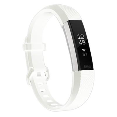 Fitbit Alta HR, Sportband, Sonderedition, Soft, weiß