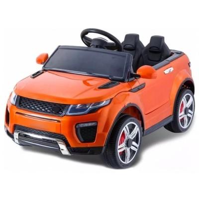 Elektroauto für Kinder SUV, 2 Sitze, 2WD, 12V, mit orange USB mp3 Fernbedienung.