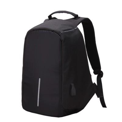 Bobby Anti-Diebstahl PC-Rucksack Laptop-Computer, schwarz