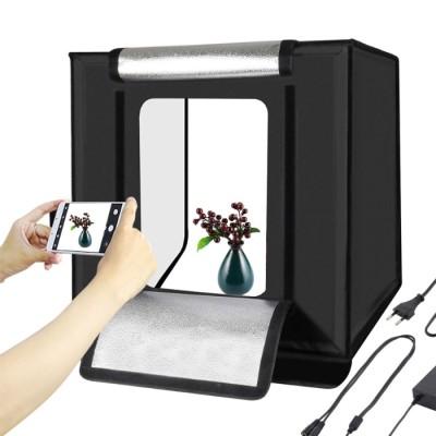 Photo Foto Studio Box mit LED 40x40
