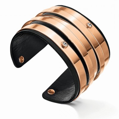 Armband für Damen, Folli Follie, Rose, aus Stahl, 17 cm