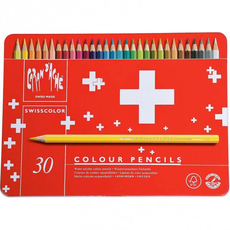 Farbig Bleistifte Caran von Ache 30 Stück