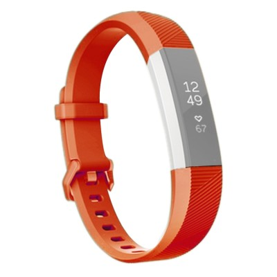 Fitbit Alta HR, Sportband, Sonderedition, Soft, rot
