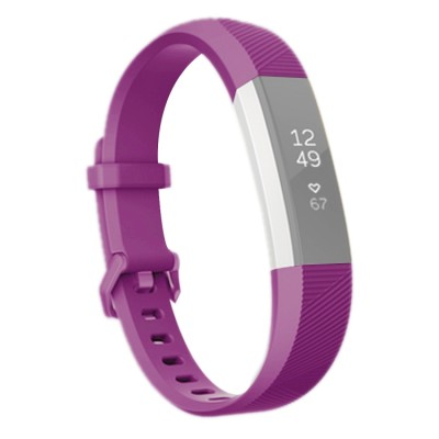Fitbit Alta HR, Sportgurt, Special Edition, weich, lila