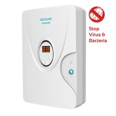 Ozongenerator, 10W, 2 in 1 und Ionisator für Luft, Wasser und Lebensmittel, entfernt Viren, Cecotec