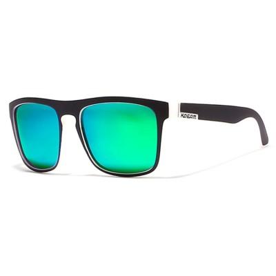 KDeam Sport Sonnenbrille, Herren Sonnenbrille, grüne Linse