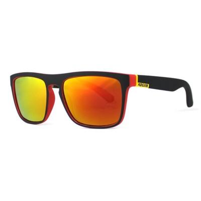 KDeam Sport Sonnenbrille, HerrenSonnenbrille, rote Linsen