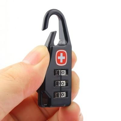 Kombinationsschloss mit der Schweiz Emblem für Schlüssel oder Gepäck