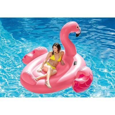Mega Flamingo Island, 218x211x136 cm, Intex 56288
