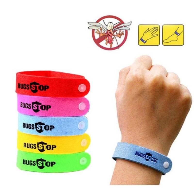 Zitronengras Armband, verstellbar, für Kinder und Erwachsene, 5 Stück