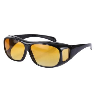 Nachtbrillen, Überbrillen, Abblendlicht, gelbe Linse