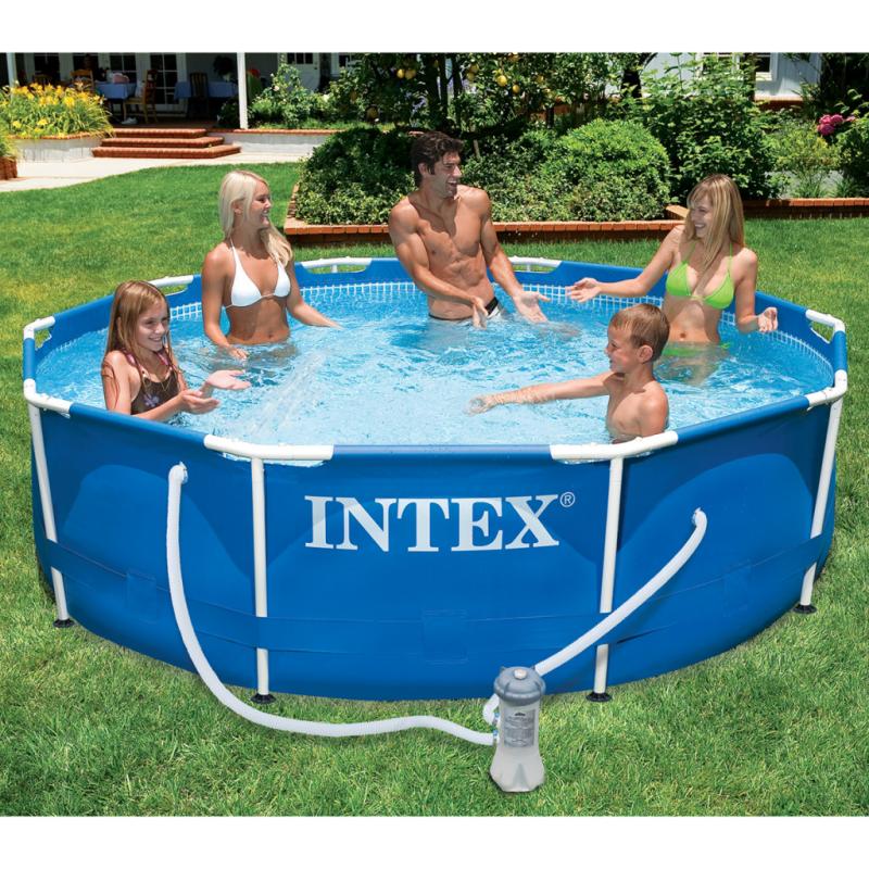 Intex Metallrahmen-Pool 366 x 76 cm 28212GN
