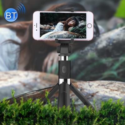 Bâton de Selfie, trépied, Bluetooth, avec le bouton prend des photos ou vidéo, noir