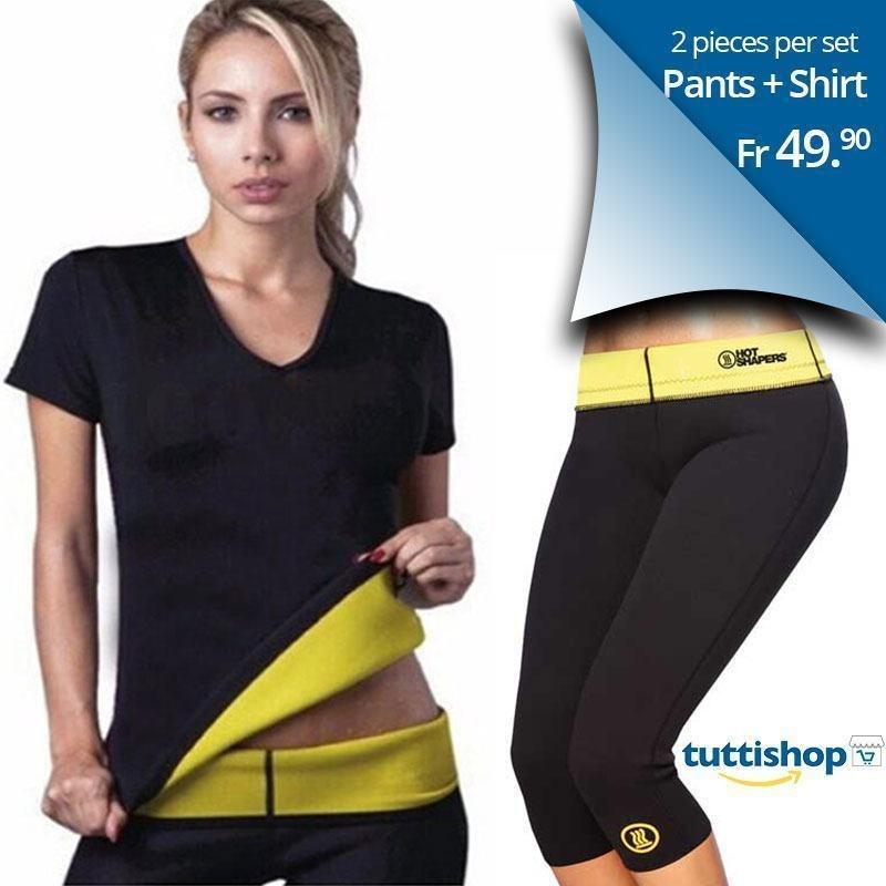 pantaloncini dimagranti e maglia dimagrante pantaloncini dimagranti hot shaper sauna per dimagrire Unisex