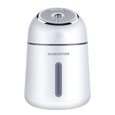 Ultraschall Luftbefeuchter mit Aromadiffusor für Aromatherapie, weiße Farbe