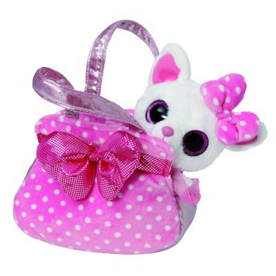 Yoohoo peluche dans mon sac à main avec un sac à main souple YooHoo et ami
