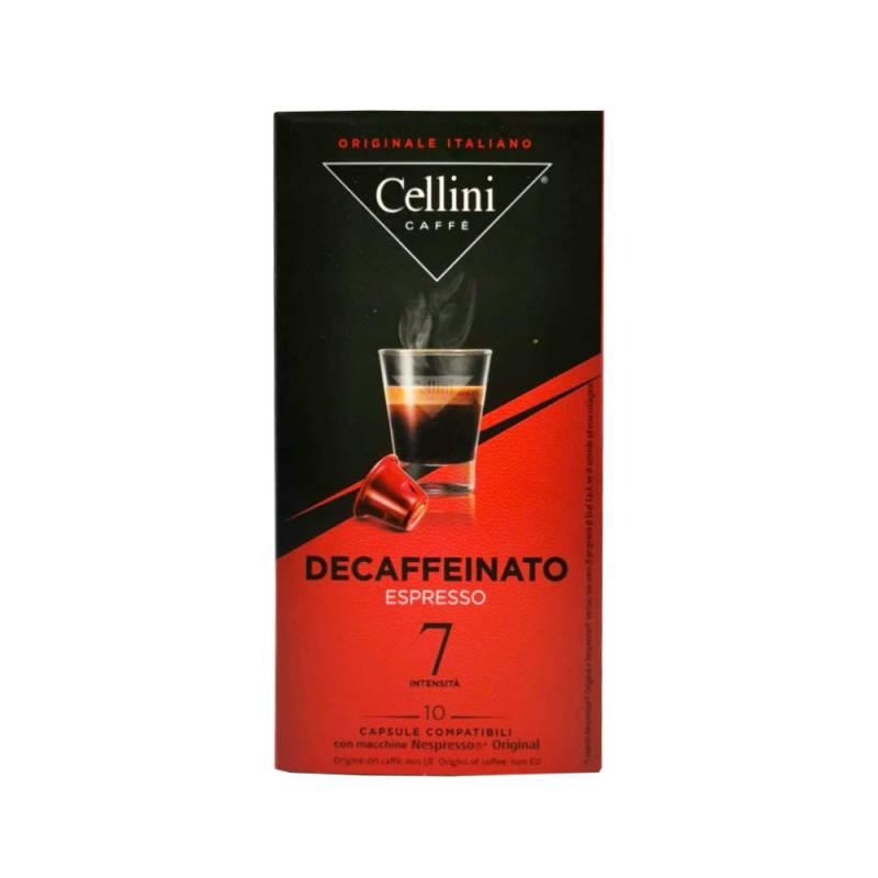 Cellini Espresso Decaffeinato 10 Kapseln