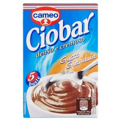 Ciobar préparé pour boire, dense et crémeux, avec goût Gianduia - 125 gr