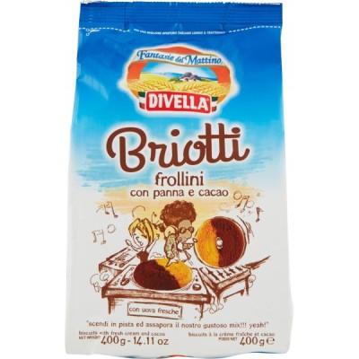 Divella Kekse Briotti Kakaocreme gr.400