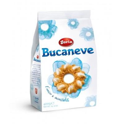 DORIA BUCANEVE klassische Kekse, Italienisch und Original, 400 gr Sack