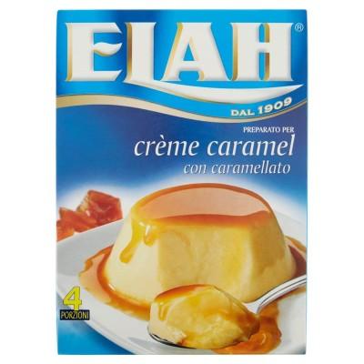 Elah, vorbereitet auf Crème Caramel, mit karamellisierten, 100 g, 4 Portionen