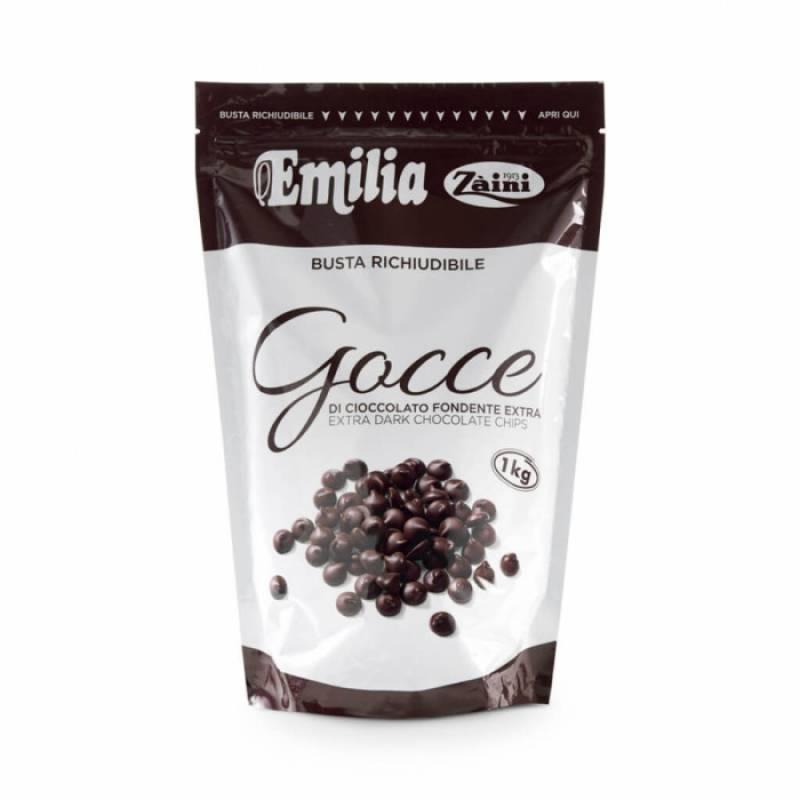 Emilia Zartbitterschokolade Drops Extar 1 kg