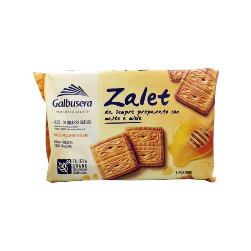 Galbusera Zalet mit Malz und Honig, 6 Portionen, 500 g