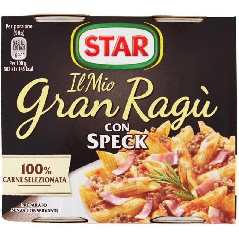 Gran Ragù Star mit Speck, 2 x 180g