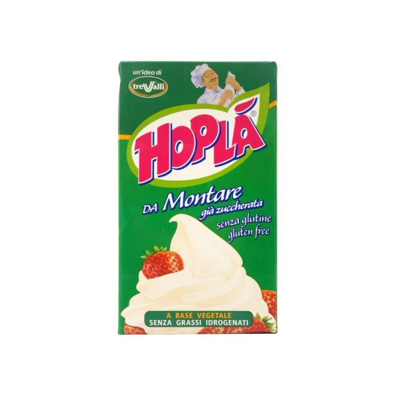 Hoplà Schlagsahne, bereits gesüßt, glutenfrei, 1000 ml