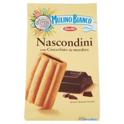 Biscuits, cacher et chercher avec du chocolat, 600g, Mulino Bianco, Barilla