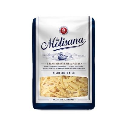 Kurze Mischung Nr. 58 Hartweizengrieß Pasta 500g La Molisana