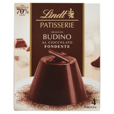 Lindt Dark Chocolate Pudding Packung mit 95 g, 4 Portionen